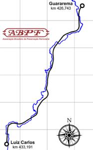 mapa Guararema